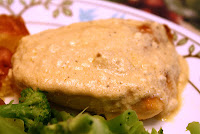 http://foodiefelisha.blogspot.com/2012/09/healthy-cream-sauce-chicken.html