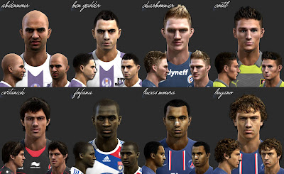 Download Facepack Ligue 1 by El Yorugua PES 2013