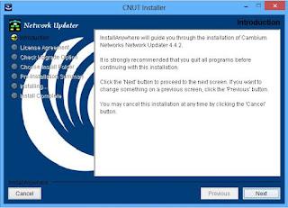 Cara install aplikasi CNUT Canopy