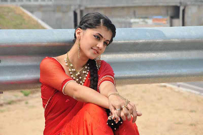 tapsee unseen in red sareepink dress latest photos