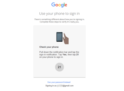 google phone sign in