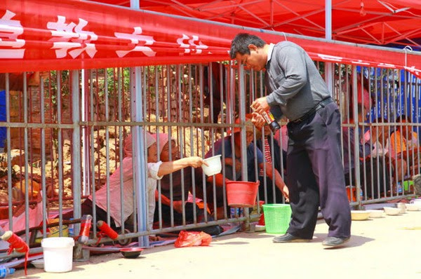 لماذا يقوم الصينيون بحبس هؤلاء داخل الأقفاص في كل شوارع الصين