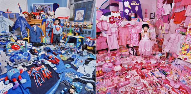 regali, Natale, bambine e bambini, femmine, maschi, femminismo, rosa, azzurro, stereotipi, separazione dei ruoli, giocattoli, pubblicità, Piccole Donne, personalità, Luisa Muraro