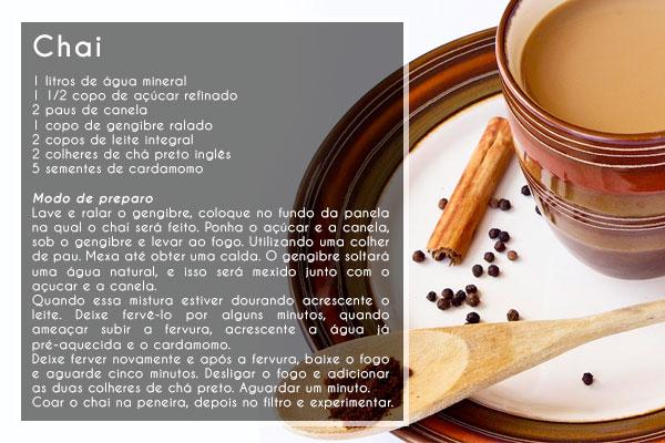 Ambientes Pequenos: Aprenda a fazer o Chai, o tradicional chá indiano (via @ambpequenos) #receitas