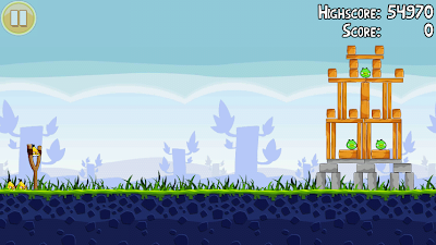 Angry Birds 1-17 Poached Eggs