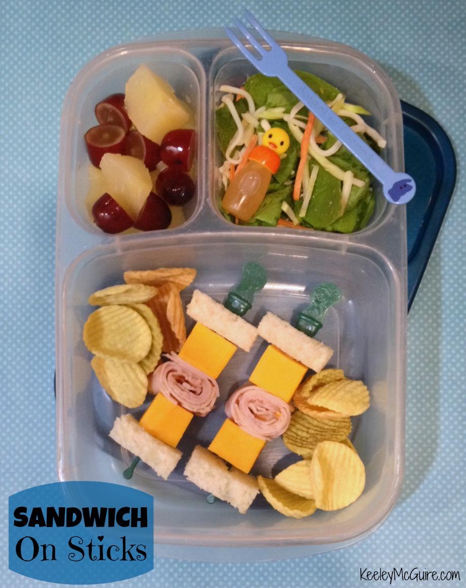 Gluten Free & Allergy Friendly: Lunch Made Easy: Sandwich on a Stick