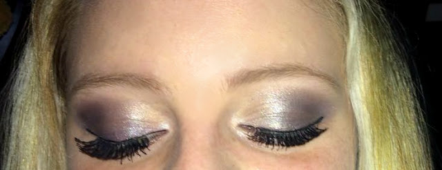 silver shimmer eye