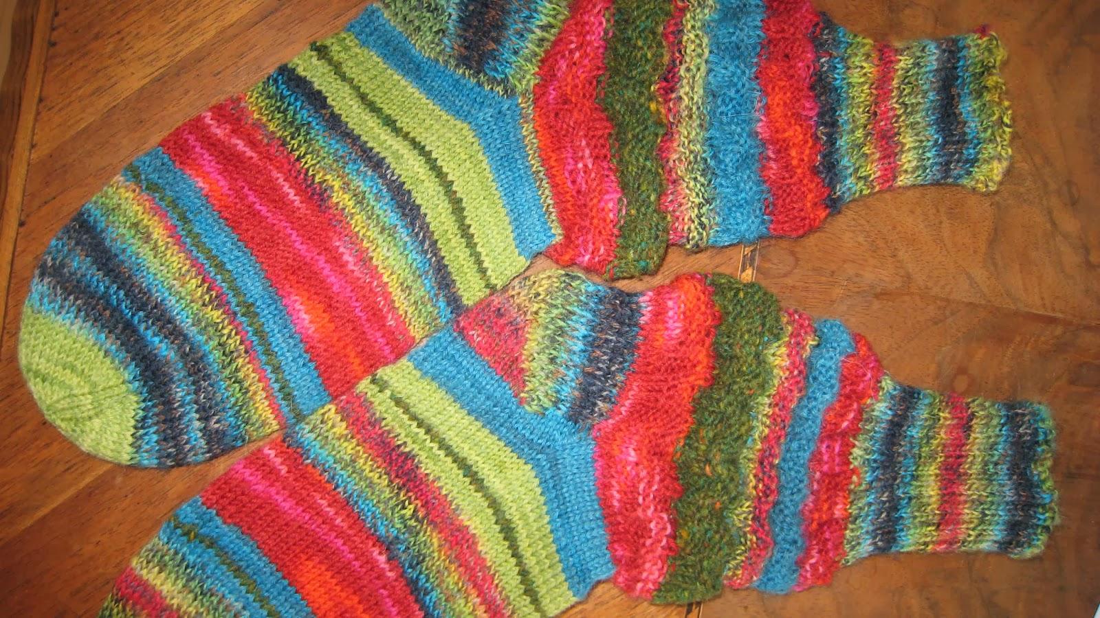 tricot avec cercle