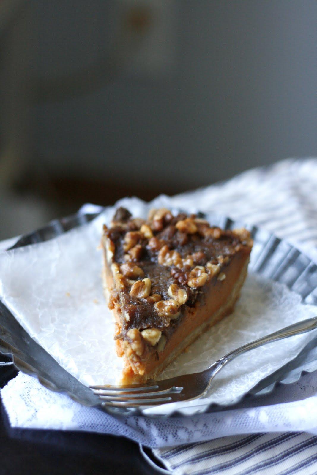 ... Scones: Sweet Potato Pie with Walnut Streusel and No-Roll Pie Crust