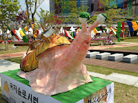HanjiNaty at the Hanji Culture Festival 2013 in Jeonju, South Korea