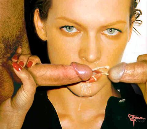 Milla Jovovich Cum Fakes