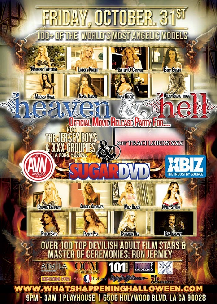 """Playhouse Hollywood Heaven Hell 2014 Halloween"""