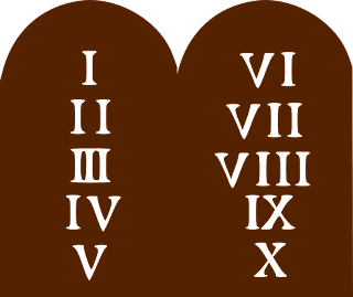 Imagem Pixabay - Public Domain | Ten Commandments | Os dez mandamentos