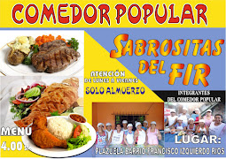"COMEDOR POPULAR ""SABROSITAS DEL FIR"""