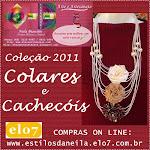 ESTILOS DA NEILA, nova coleção 2011 cachecóis e colares: