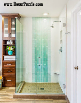 Modern Tile Shower. Excellent Images About Bathroom Ideas On ...