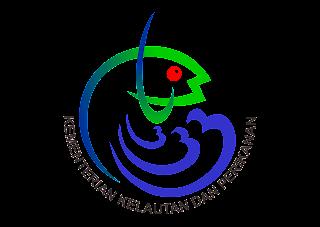 Kementerian Kelautan dan Perikanan Logo Vector