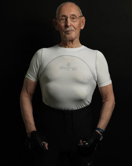 ¿Un culturista con 91 años?