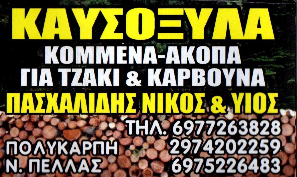 ΚΑΥΣΟΞΥΛΑ ΚΟΜΜΕΝΑ-ΑΚΟΠΑ