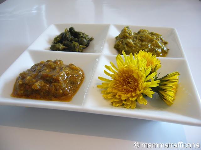 tarassaco ricette