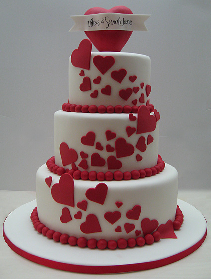 Cake Designs For Valentine S Day : Love Wedding Cakes To Valentine s Day