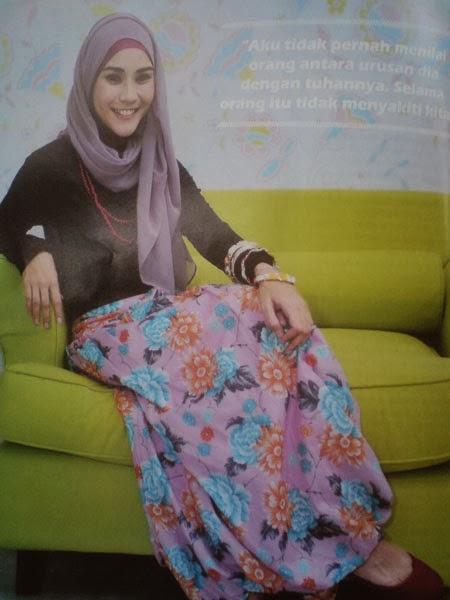 Zaskia Mecca Hijab Style | Hijab