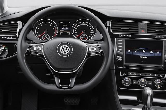 Novo Volkswagen Golf 2013 - painel