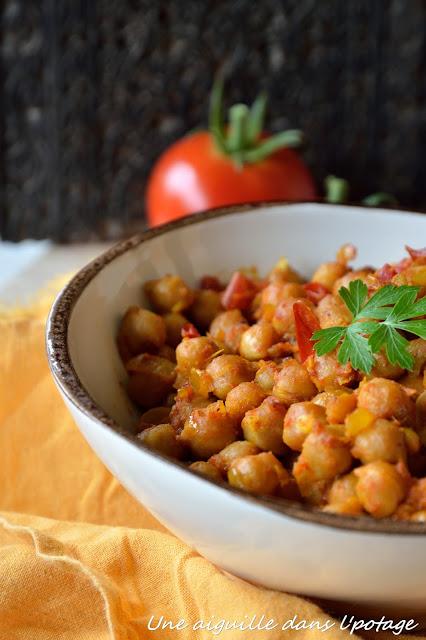 Curry de pois chiches cuisine indienne