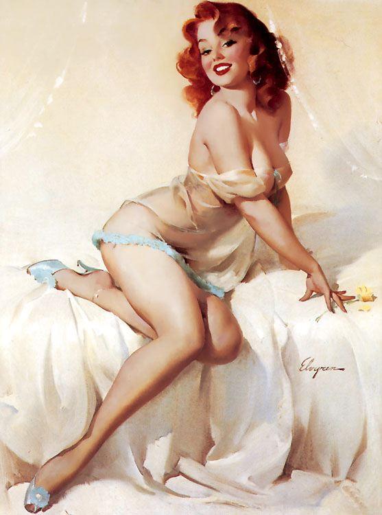 Gil Elvgren 1950s Pin Up Girls 3