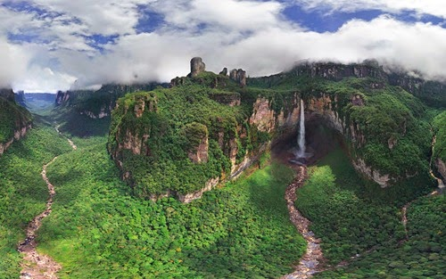waterfall is highest in the world
