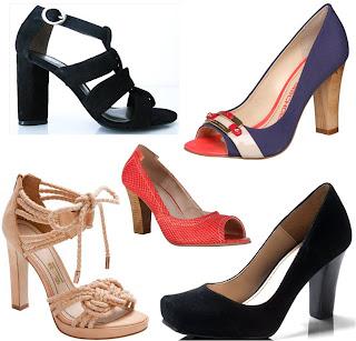 Conheça os tipos de calçados com Salto Robusto