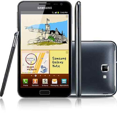 Samsung Galaxy Nota,Top 5 Samsung  Smartphones  Android