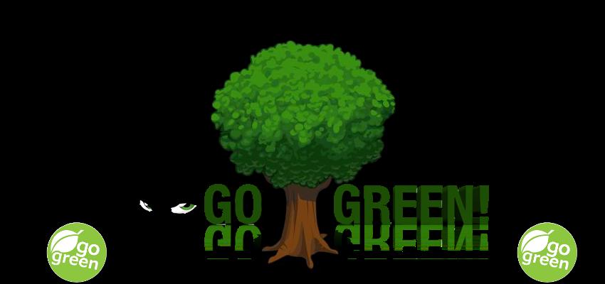 going green essays