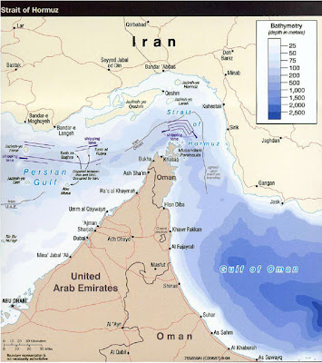 la proxima guerra iran cerrar estrecho de ormuz sanciones petroleo mapa