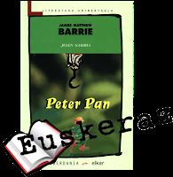 Peter Pan, J.M. Barrie Julen Gabiriak itzulia