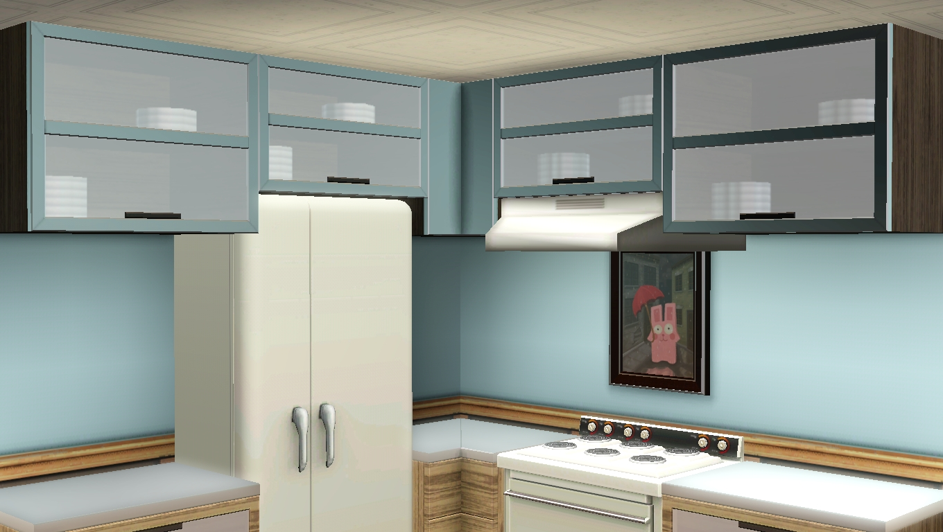 My Sims 3 Blog 5 Maxis Match Kitchen Cabinets By Omega Star