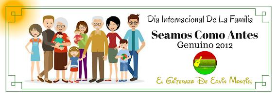 DIA INTERNACIONAL DE LA FAMILIA - VER AQUÍ