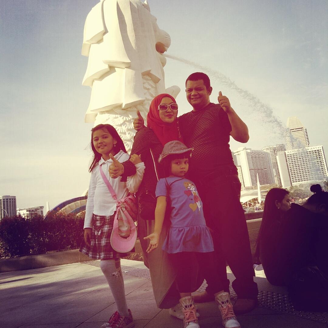 FAMILY SINGAPORE TOUR 08-10 OKT 2016
