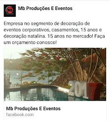 Facebook MB Produções e Eventos