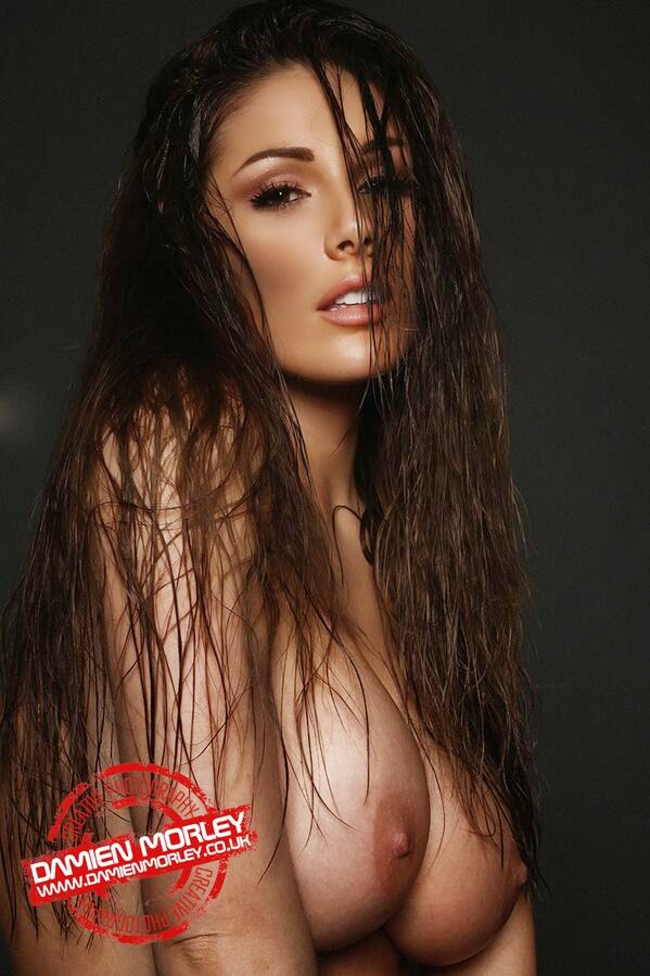 Lucy Pinder Wet Hair Shoot Preview