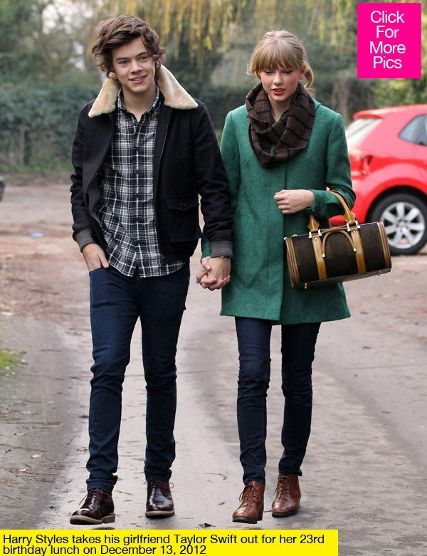 where taylor swift and harry styles dating
