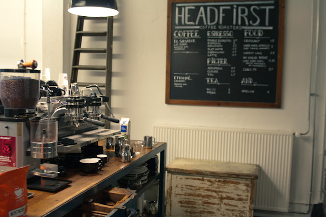 Headfirst Coffee Roasters espresso machine