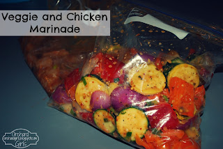 Chicken and Veggie Marinade