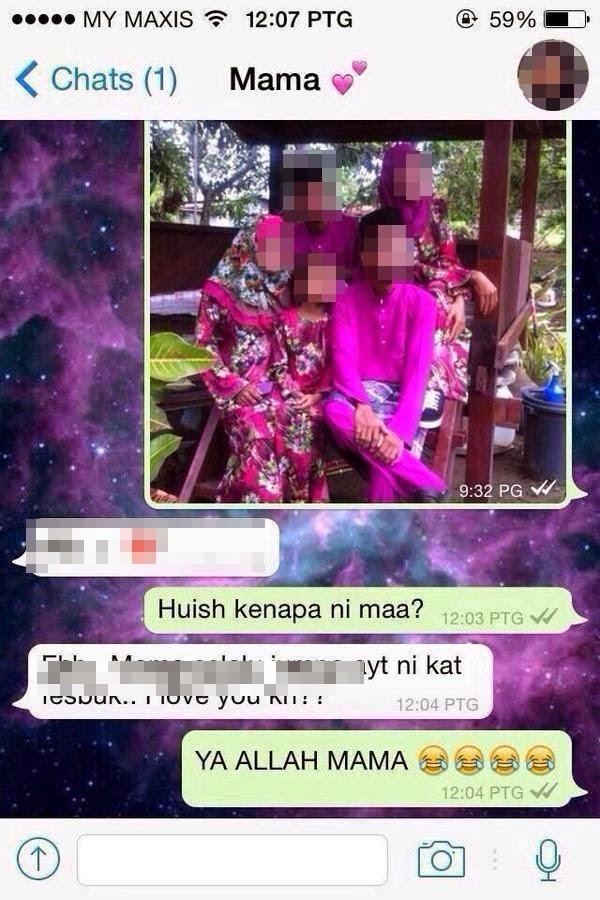 SMS Mama Yang Sungguh Memalukan