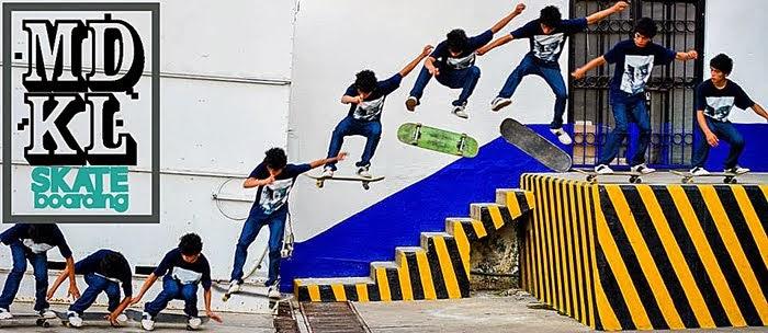 MDKL Skate Mexico.