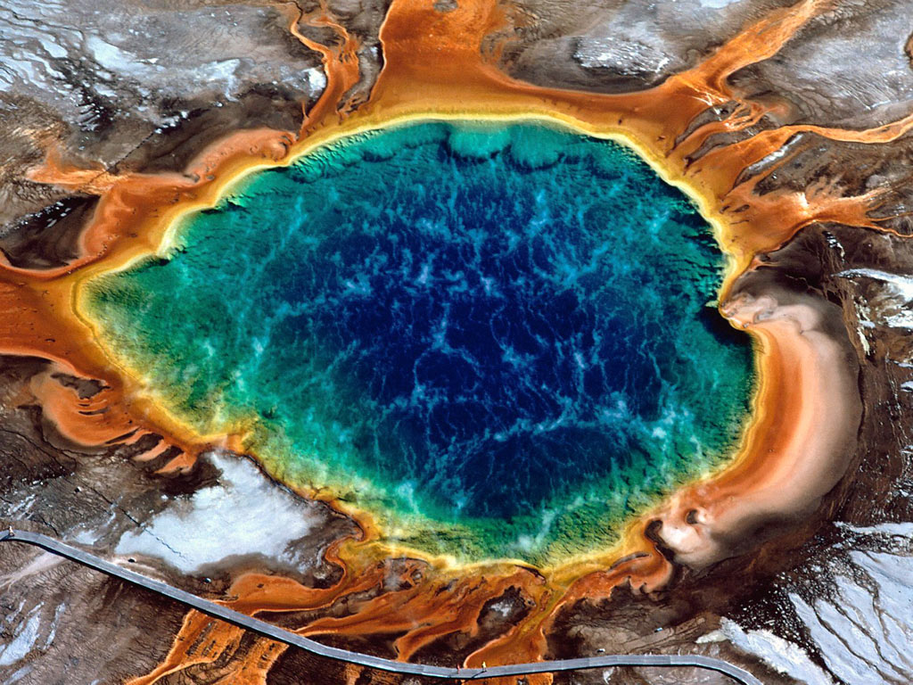 Yellowstone National Park Volcano 2013