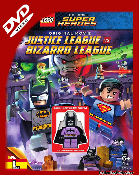 Lego Batman: Justice League vs. Bizarro League [DVDRip][Latino][MG-SR-1F-RG-TB]