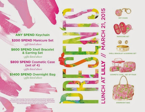Style Guide: Lunch at Lilly Pulitzer - Gift with Purchase