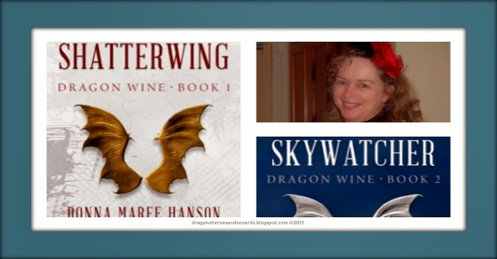 Shatterwing (Dragon Wine 1) by Donna Maree Hanson   Science Fantasy Book Review