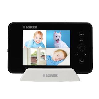 Multi camera baby monitor